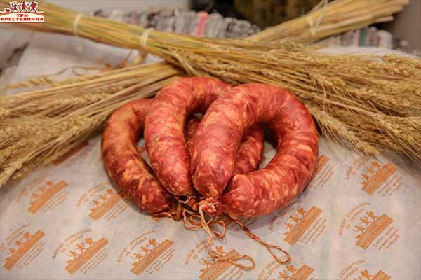 Краковская колбаса от компании Три Крестьянина